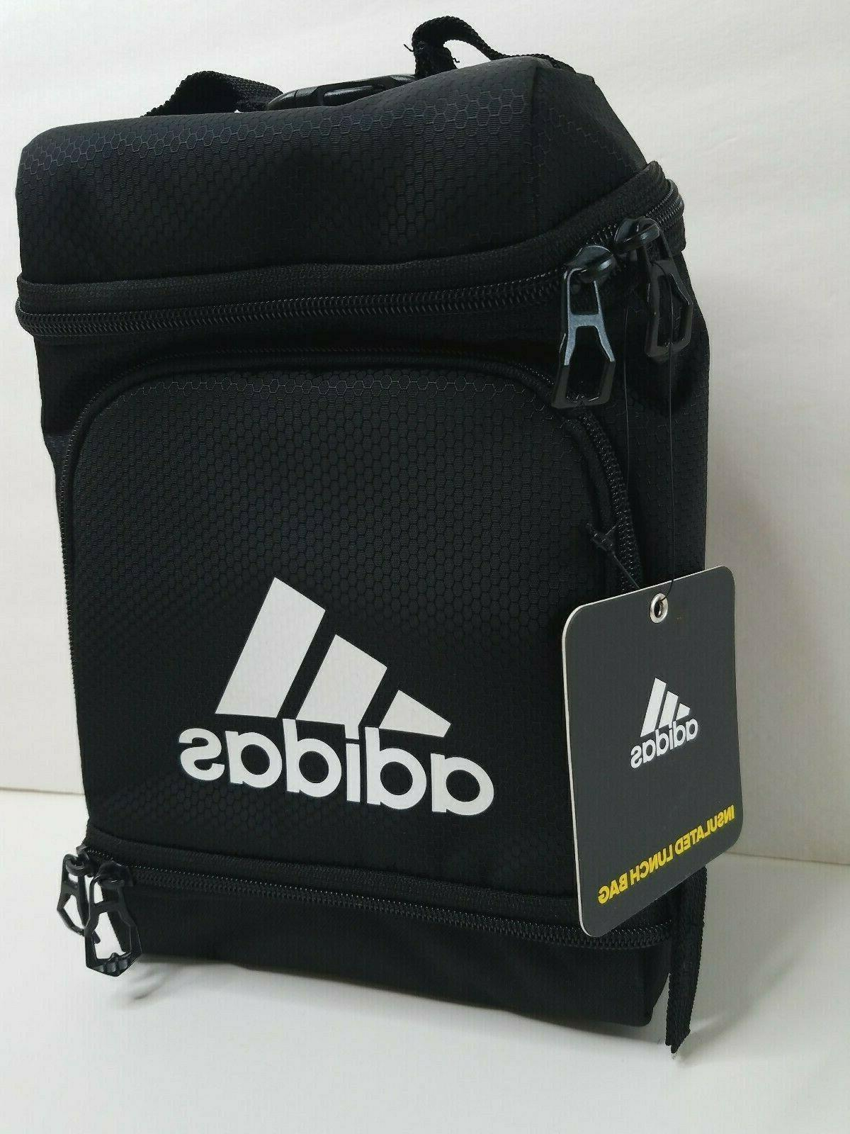 nwt black insulated lunch bag lunch box