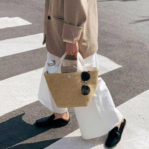 Women Leather Handbag Shoulder Bag Ladies Tote Messenger Pur
