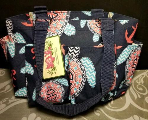 nwt small zippered organizing tote bagdiaper bagcan