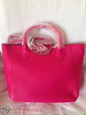 NWT Betsey Johnson The Roses Tote Bag Crossbody- Fuschia $128