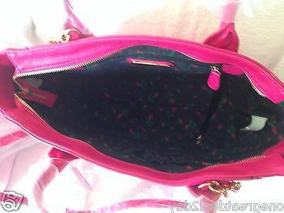 NWT Betsey Smell The Tote Bag Crossbody- Fuschia $128