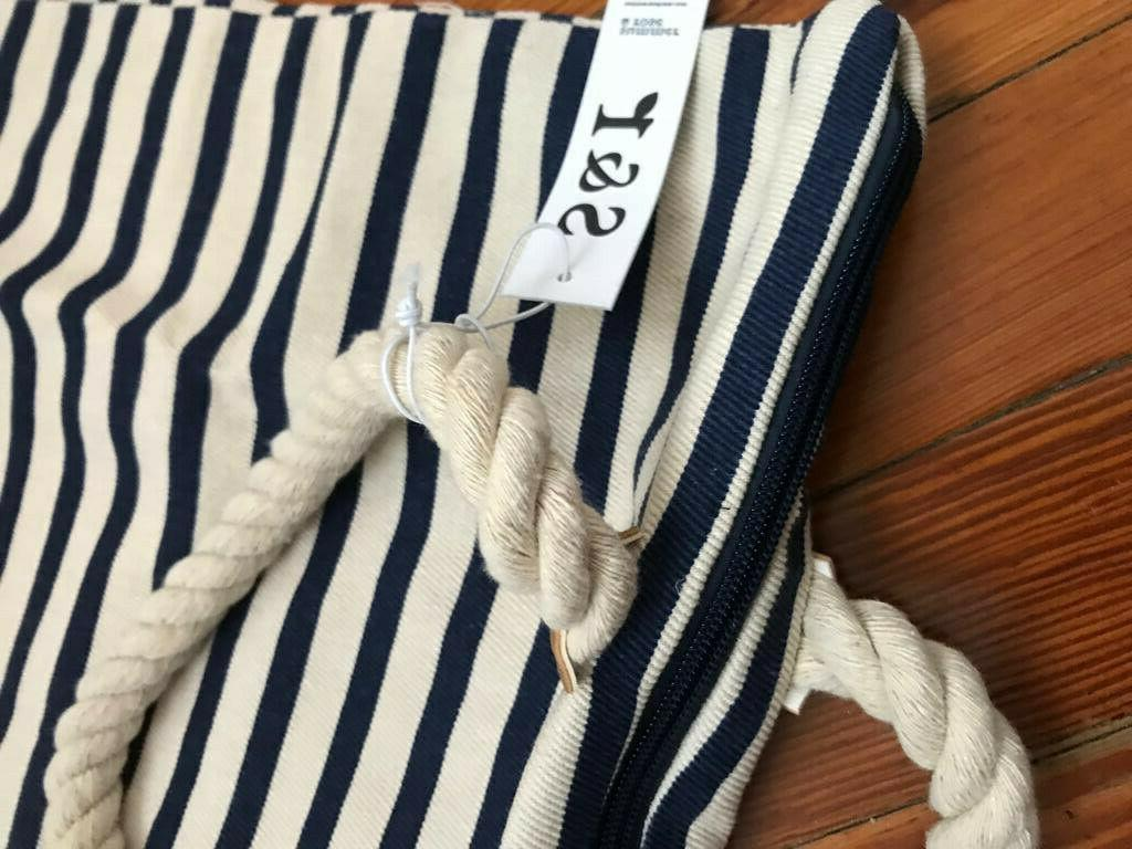 NWT! Tote Bag Blue White $54