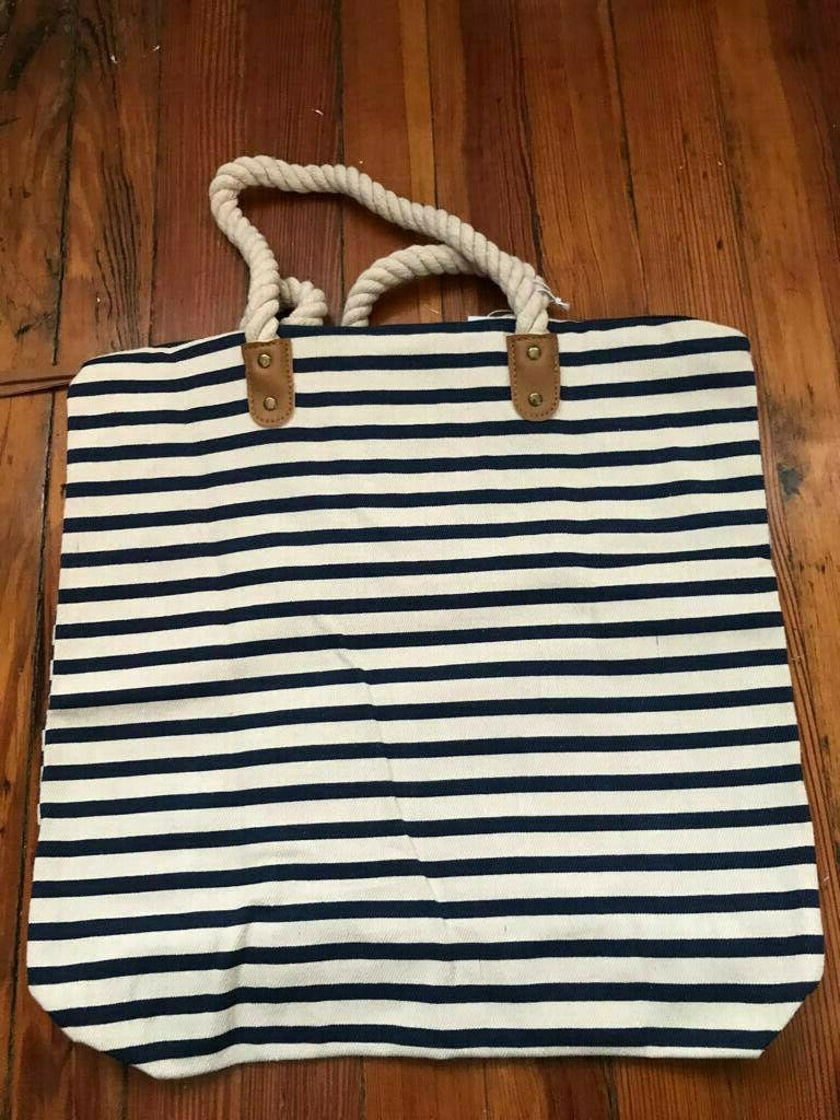 NWT! & Rose Tote Blue $54