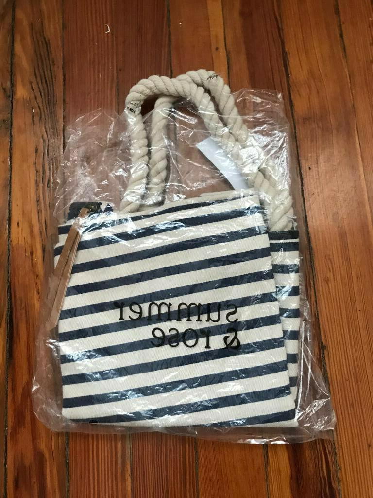nwt summer and rose tote bag brittany