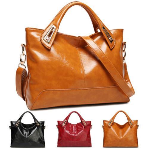 Oil Purse Leather Messenger Bag