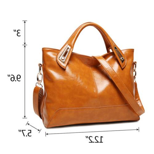 Oil Wax Purse Leather Messenger
