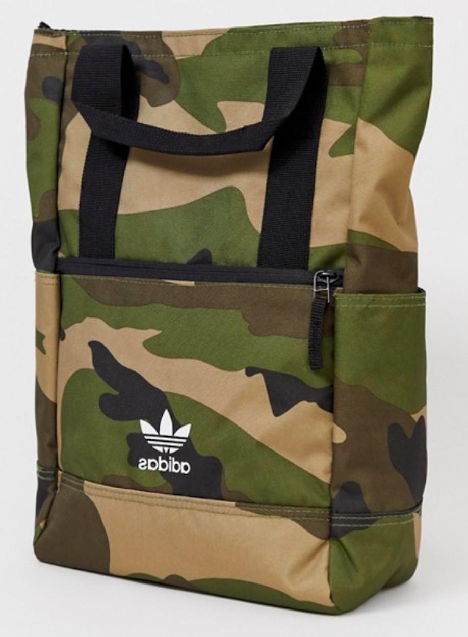 originals tote iii backpack olive cargo camo