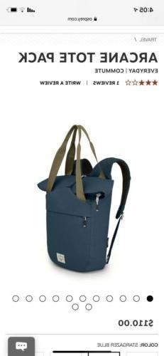 osprey arcane tote bag backpack
