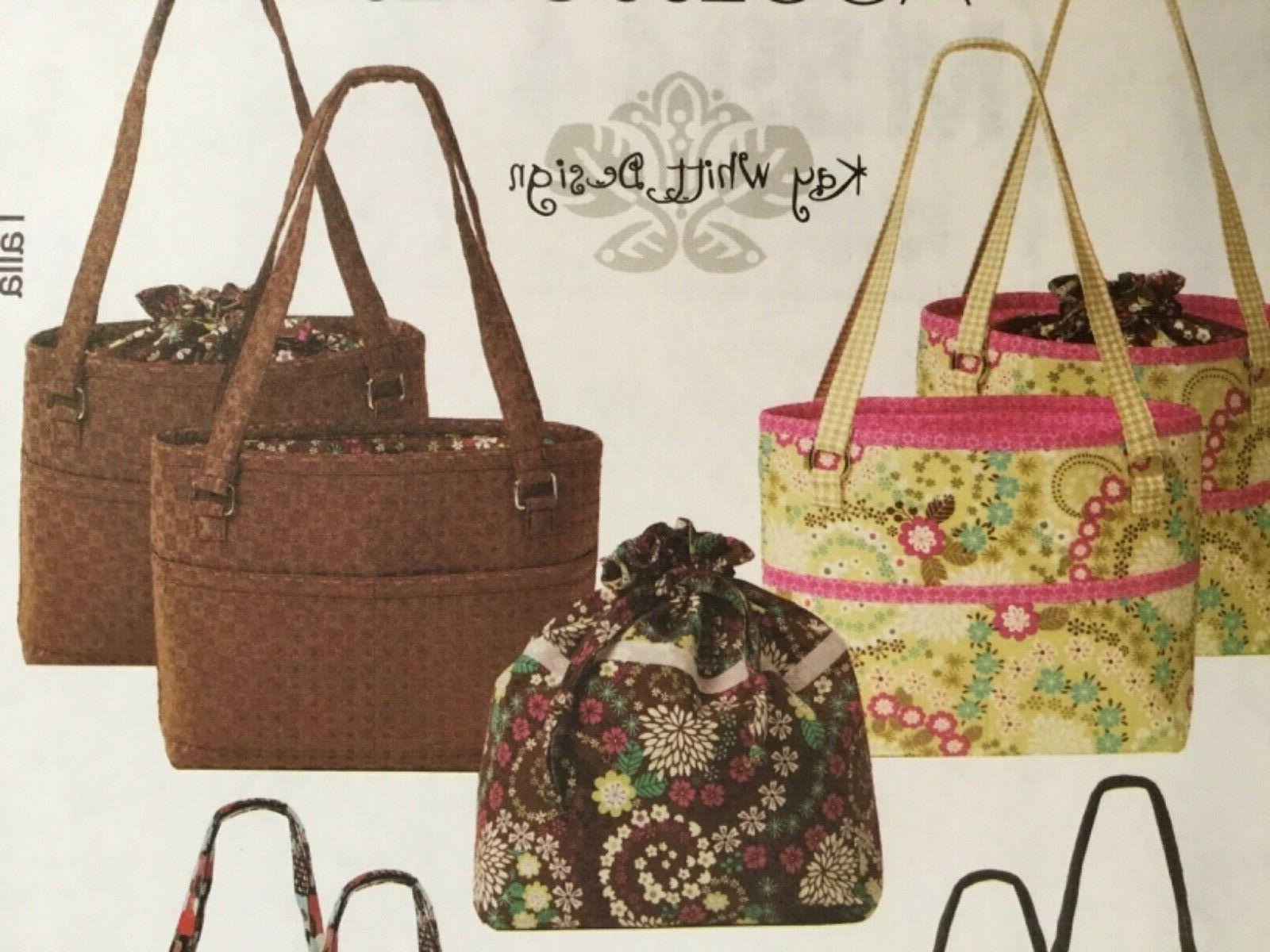 PATTERN Fabric Bag Fabric Purse UNCUT OOP 5944