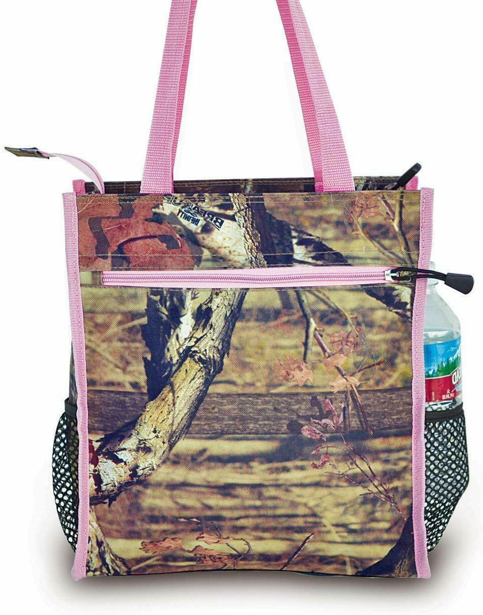 pink tote bag lunch bag insulated diaper