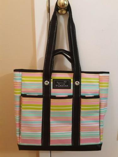 pocket rocket tote bag multicolor
