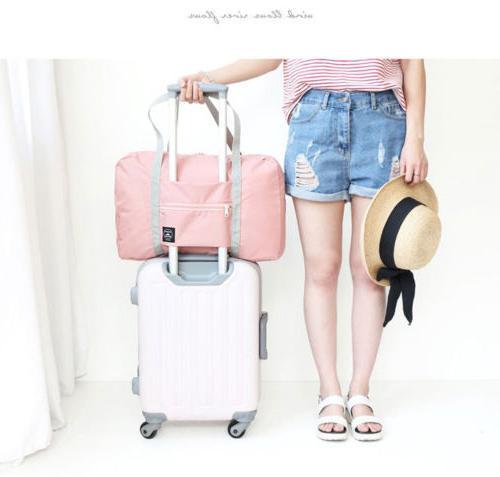 PolyesterFolding Travel Storage Bag Large Capacity Luggage P