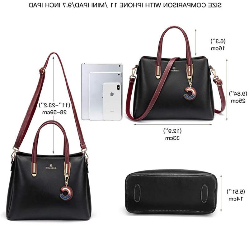 Cheruty and Handbags for Designer Leather Shoulder Tote Bag Satche