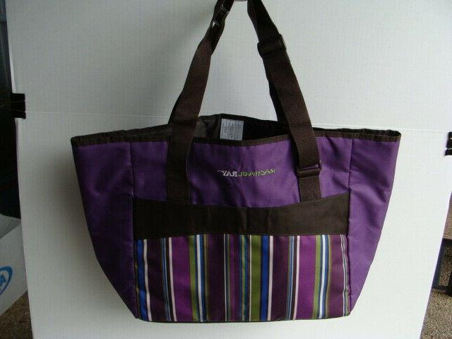 Rachael Ray Purple Picnic Set Insulated Cooler And