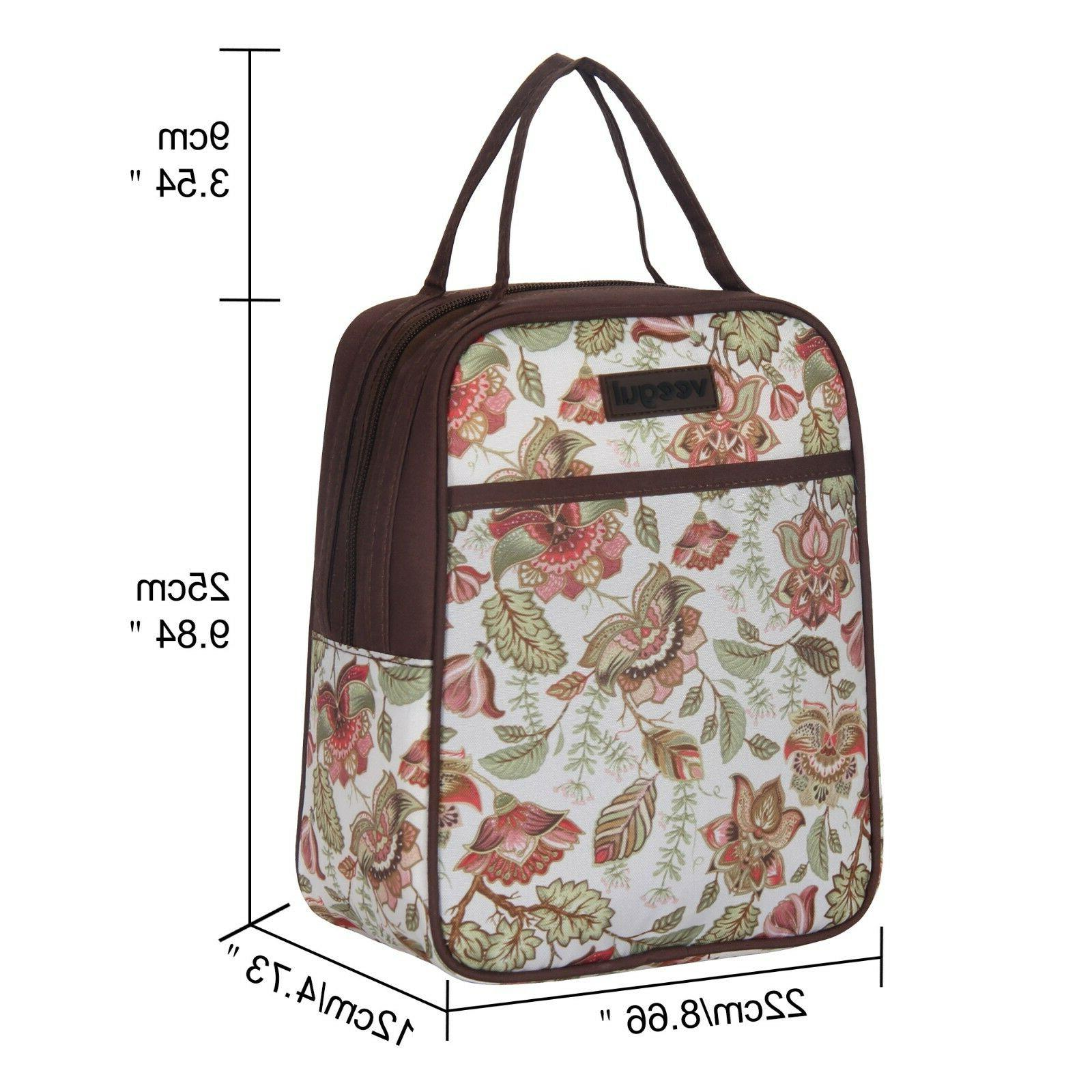 Recycle Cooler Bag Family Women Men Meal Tote
