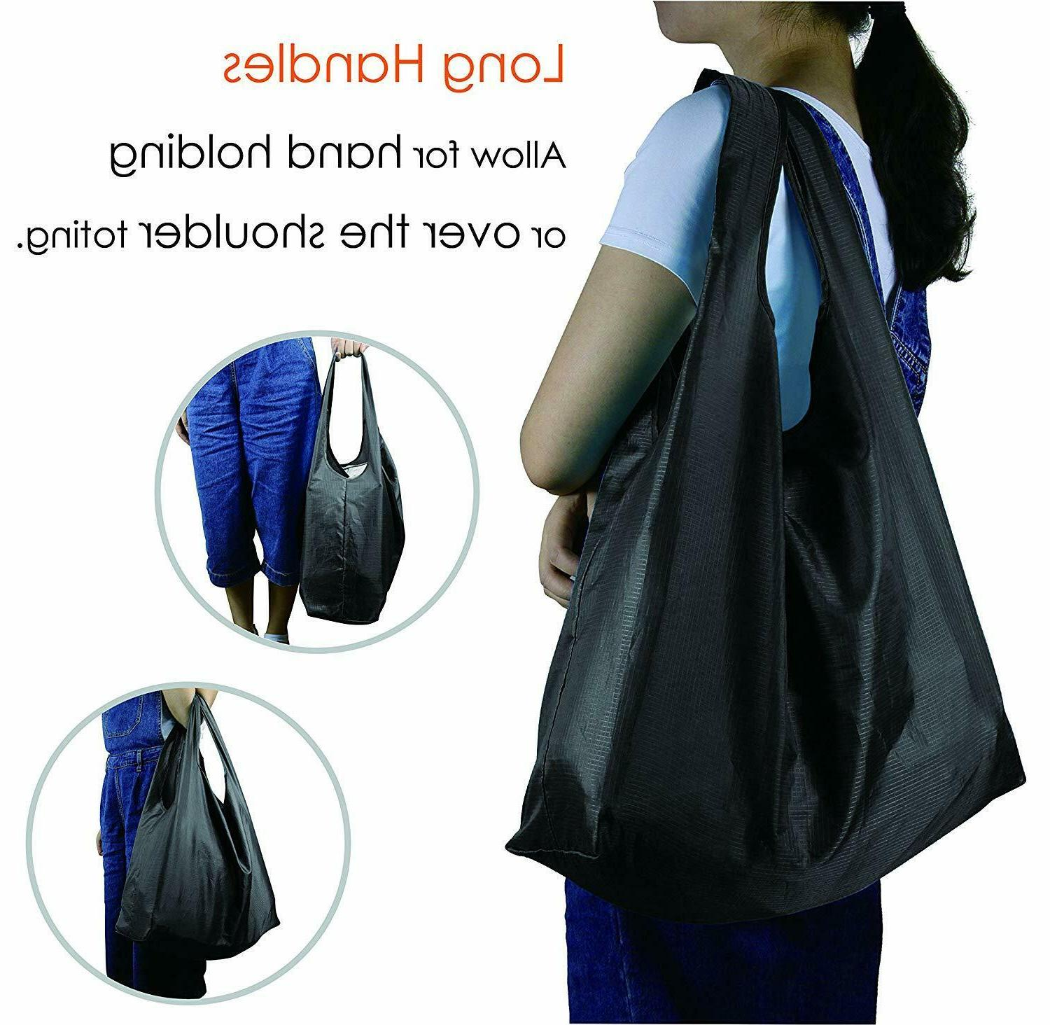 Reusable Bags 5,Grocery Tote Foldable Attached Shop , Kitchen