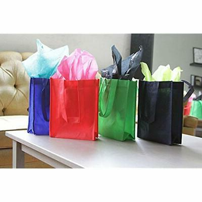 Reusable Lunch Bags Gift/Party/Lunch Tote - Pack Black Grocery