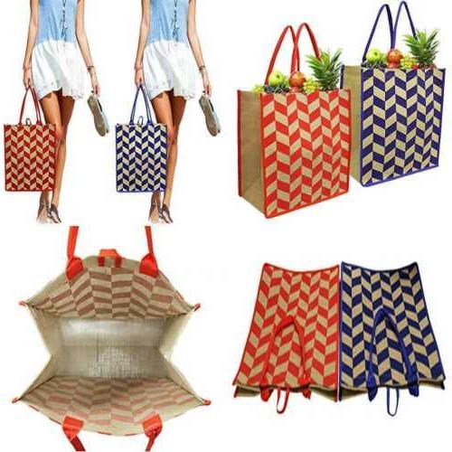 reusable grocery bags shopping beach