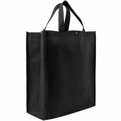 reusable grocery tote bag large 10 pack