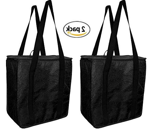 Earthwise Insulated Bags Heavy Thermal In Closure KEEPS FOOD OR
