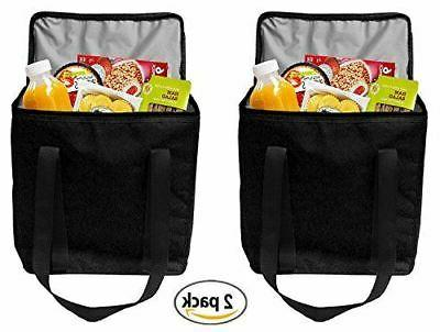 reusable insulated grocery bags heavy