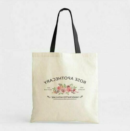 rose apothecary tote bag schitts creek market