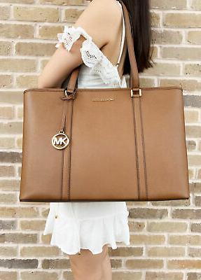 Michael Sady Multifunctional Luggage Brown Bag