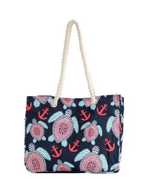NGIL Turtle Rope Handle Bag SHIPPING!