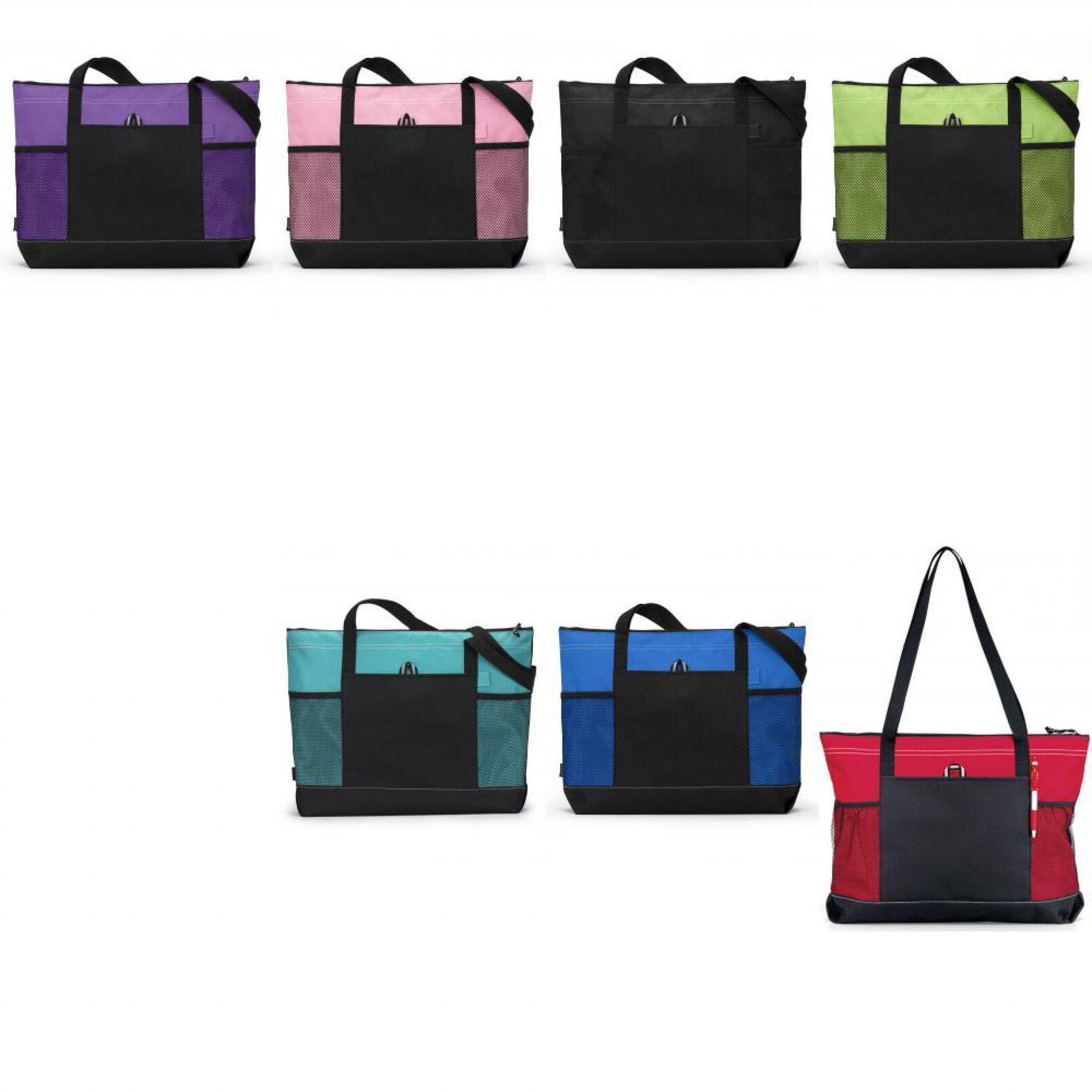 select zippered tote bag 1100