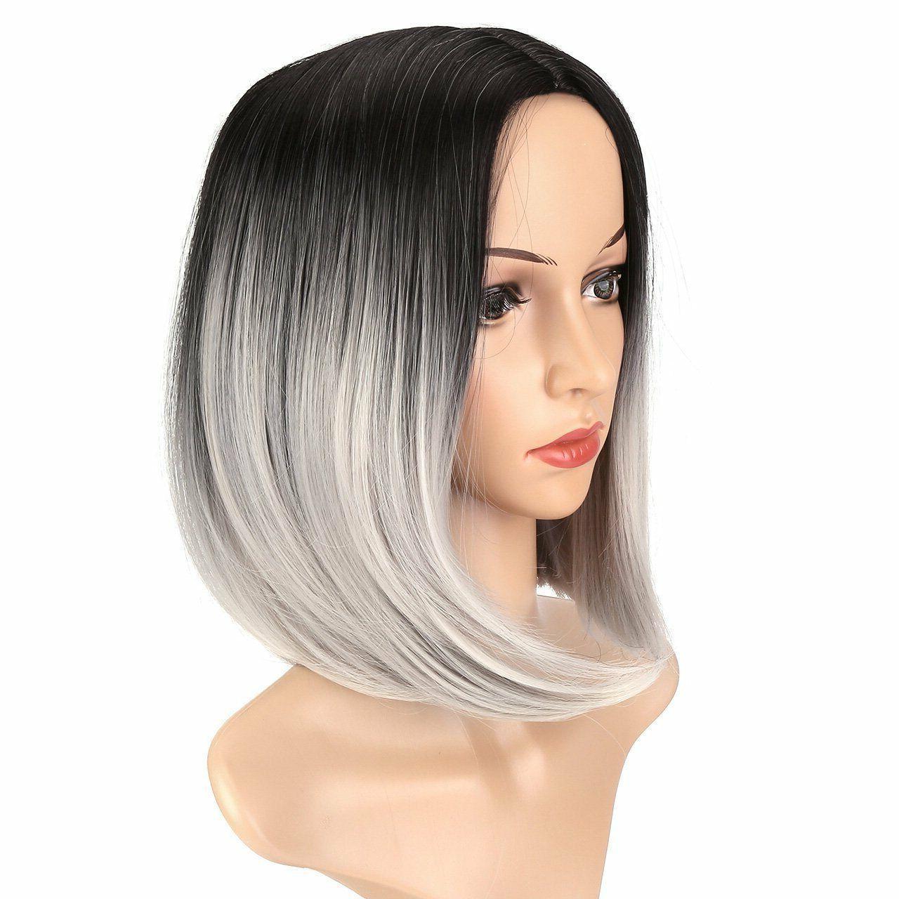 Heat Black Ombre Hair