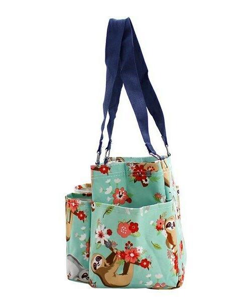 Sloth NGIL Zippered canvas purse Tote Free