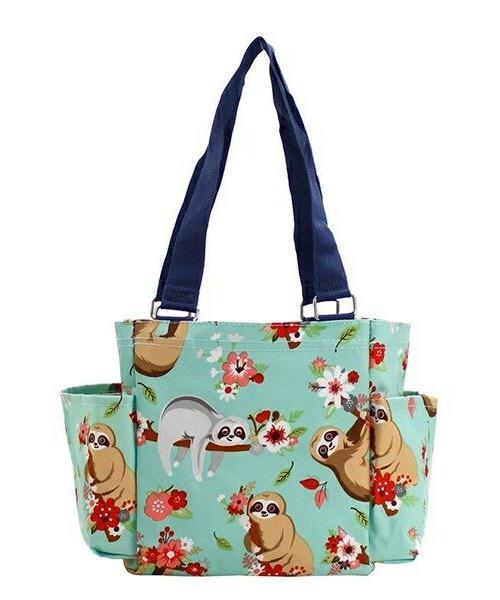 Sloth Small canvas purse Caddy Tote