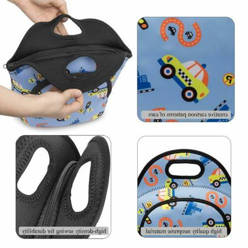 Small Soft Insulated Lunch Bag Soft Bag Leakproof Bag Men Women