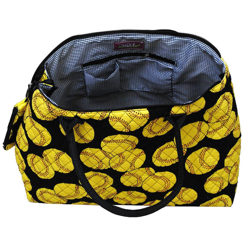 Softball Quilted Tote