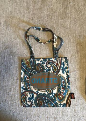 strand bookstore vintage tote bag