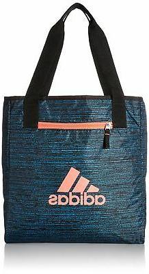 adidas Studio II Tote Bag Blue One Size New