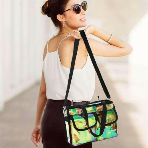 Summer PVC Transparent Bag Clear Shoulder Bag Crossbody