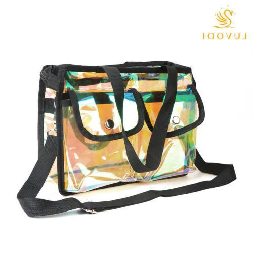 Summer Plastic Transparent Bag Shoulder Bag Bag