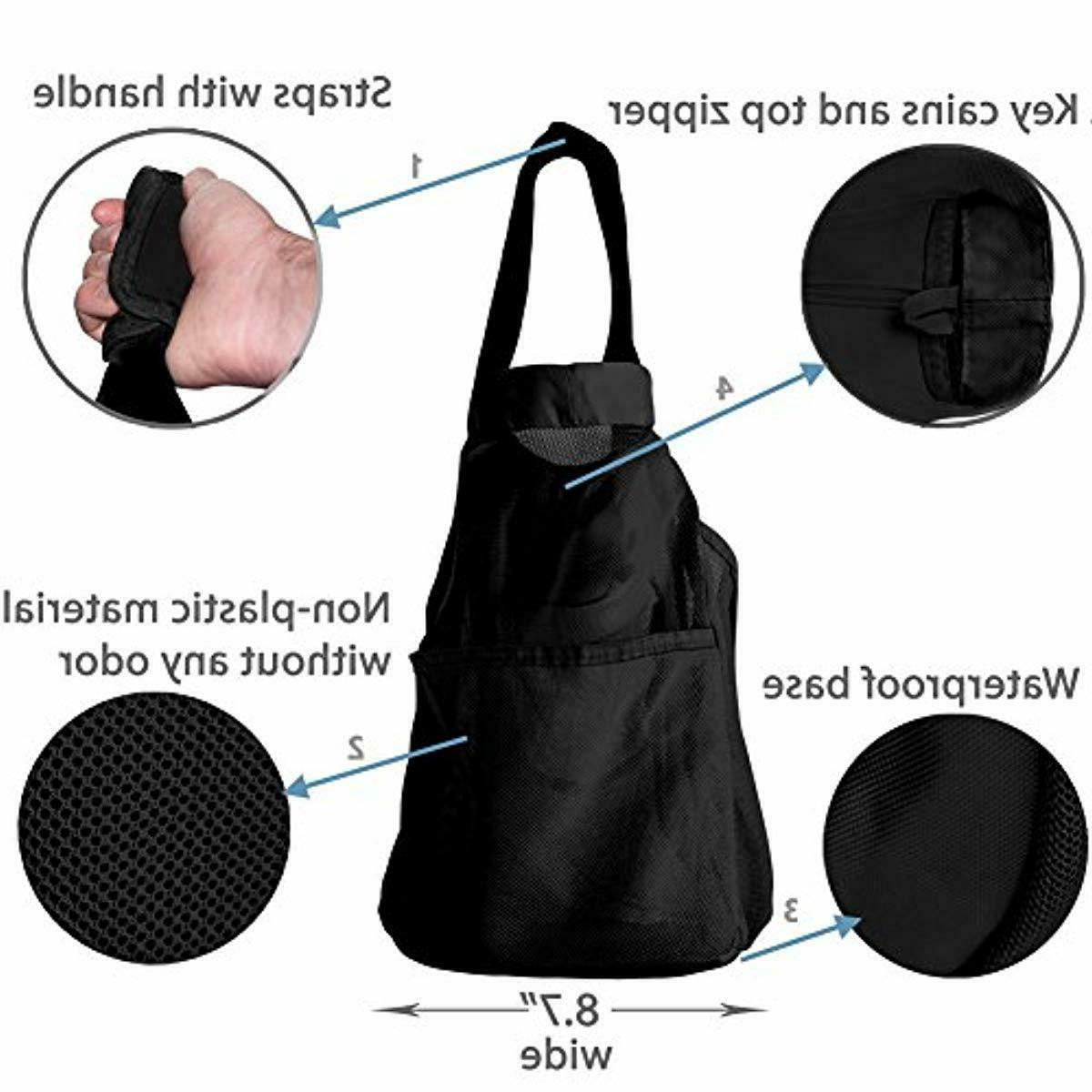 Extra Large Beach and / XXL Bag with Pockets