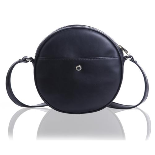 The Lovely Tote Co. Women's Round Cross-Body Bag Circle Purs