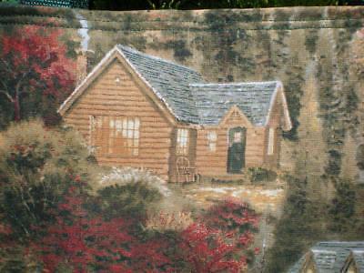 Thomas Kinkade Cabin Bag Country Book or Purse