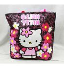 Tote Bag - Hello Kitty - Flowers Black  New Gifts Girls Hand