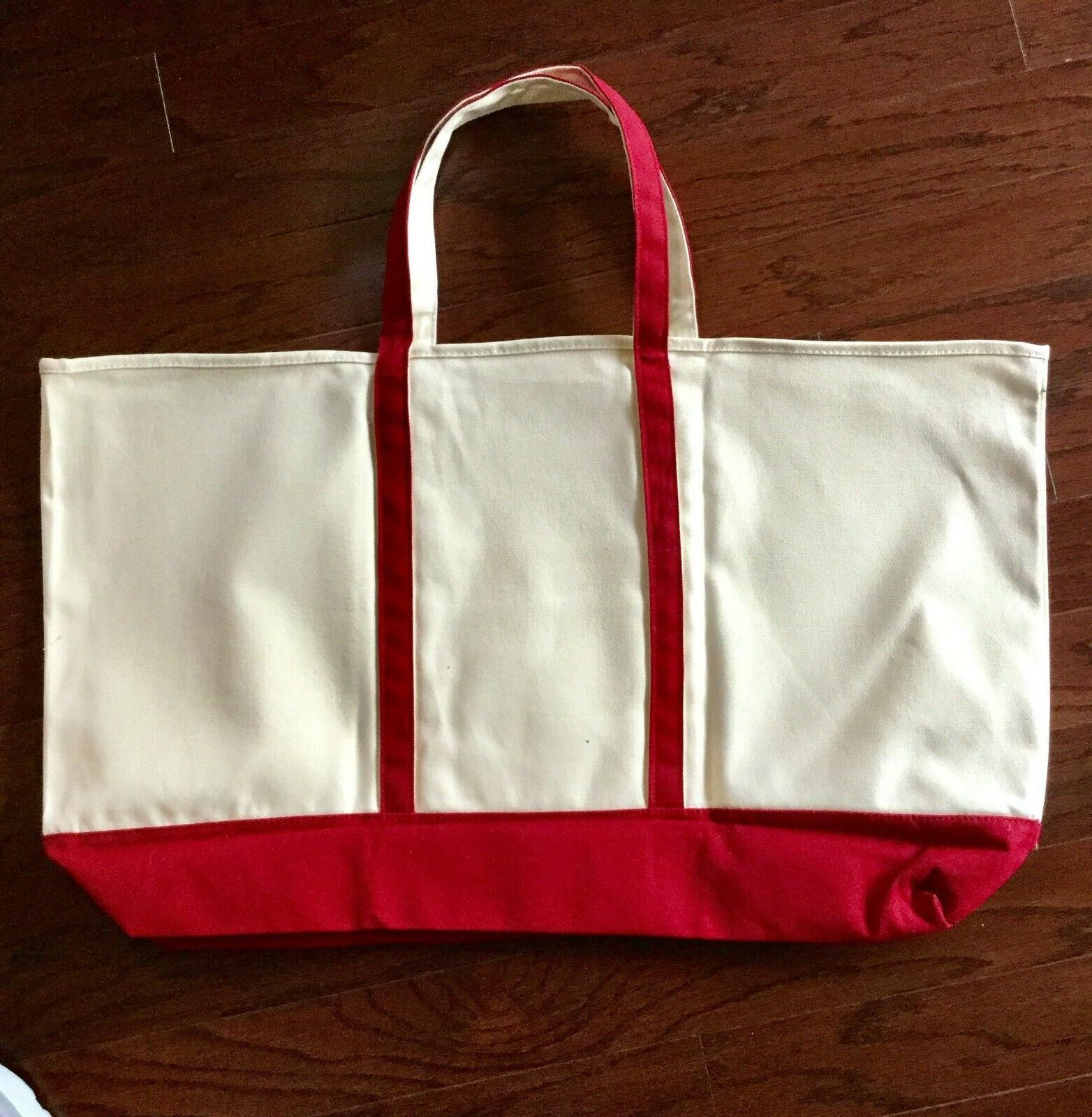 Tote Large Canvas Beach in