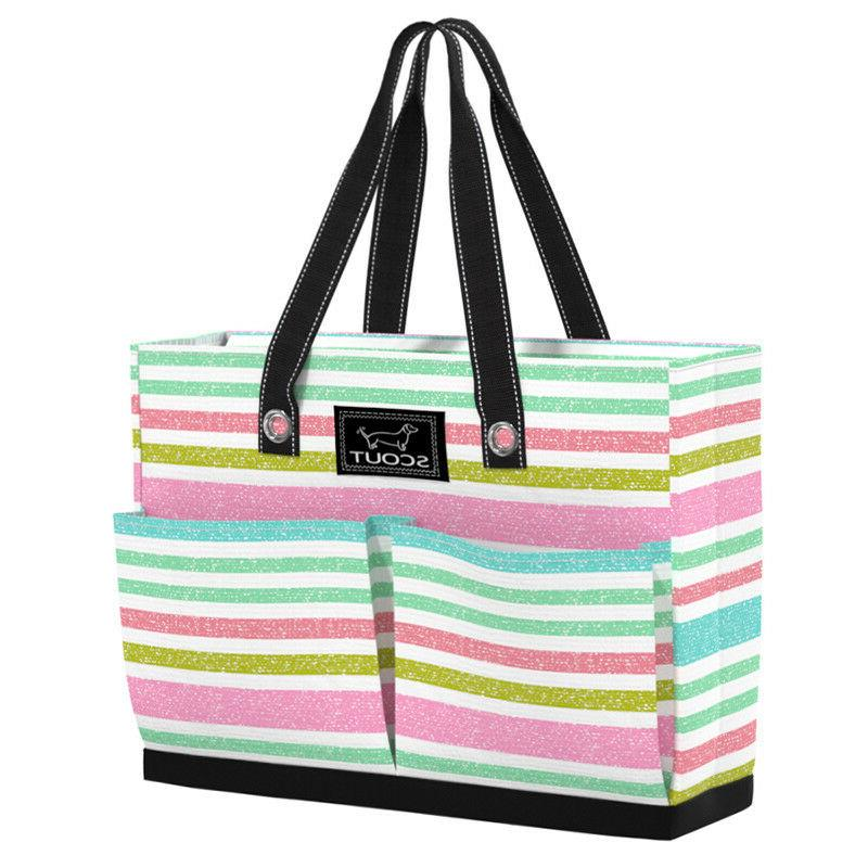 tote bag w pockets uptown girl off