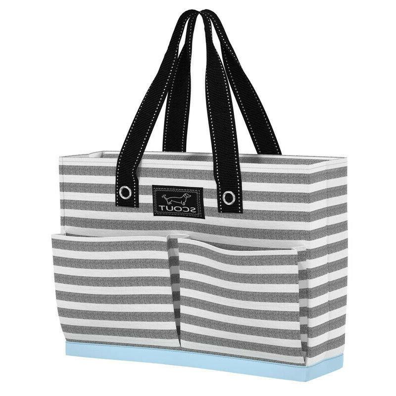 tote bag w pockets uptown girl oxford