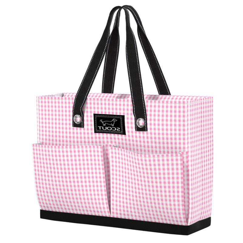 tote bag w pockets uptown girl victoria