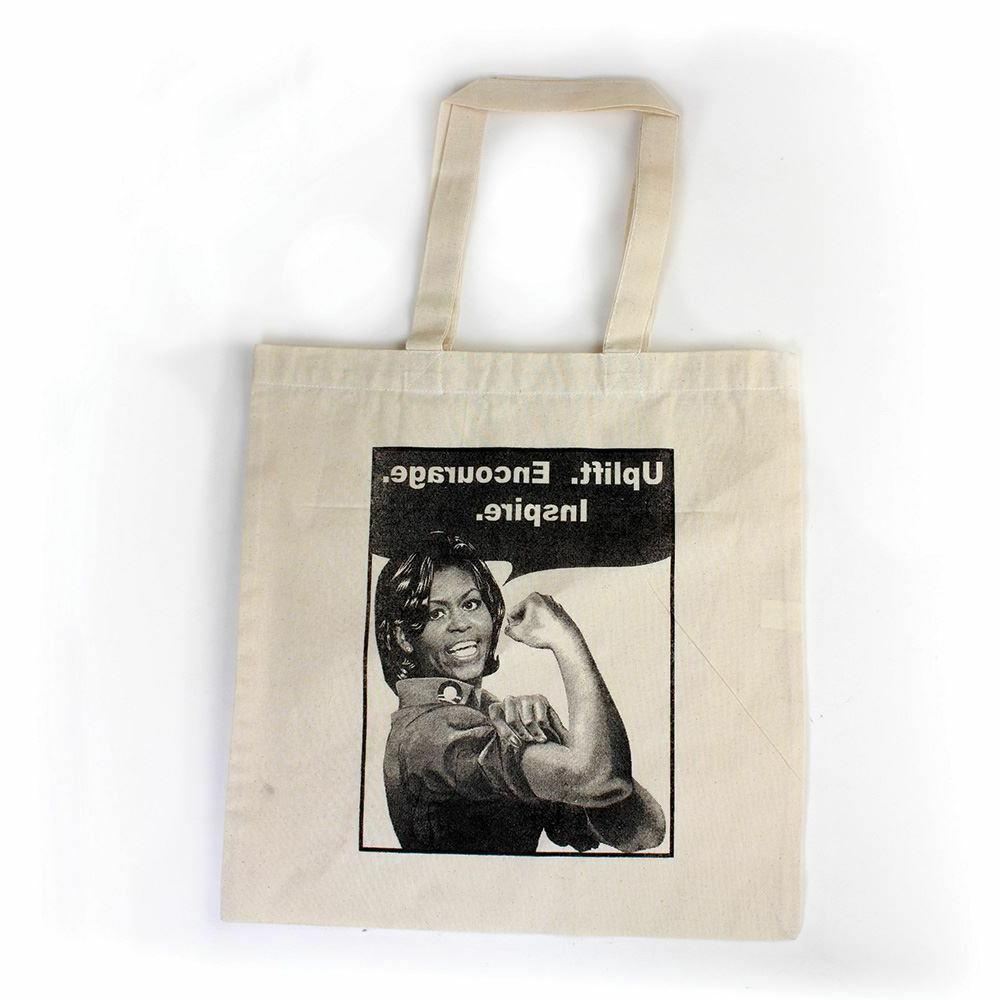 tote bags for women michelle obama printed
