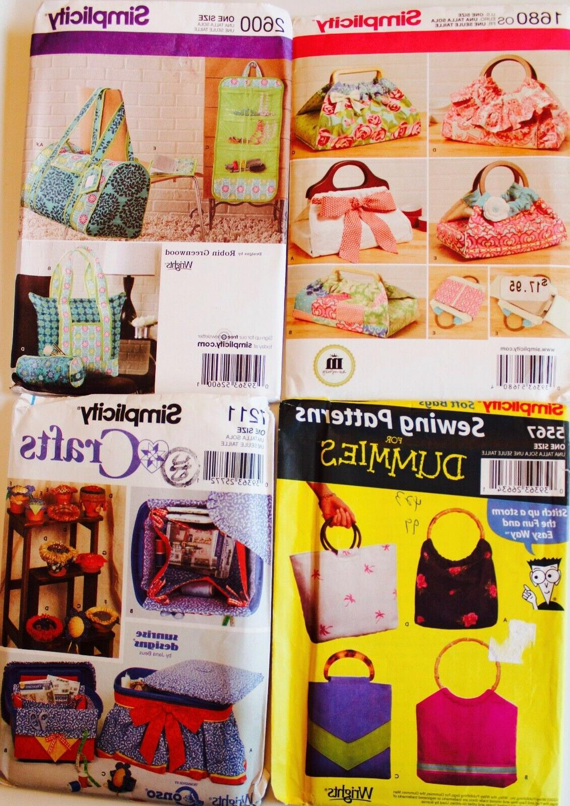 TOTE, PURSE, GARMENT BAG or SEWING ACCESSORIES Quilt Sew Pat