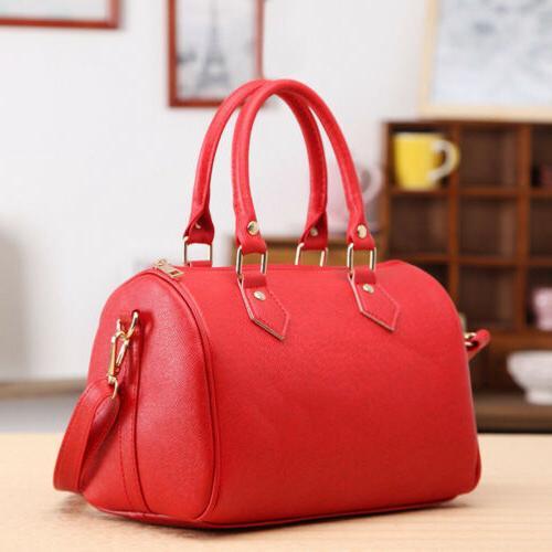 US Women Leather Tote Purse Bag Crossbody