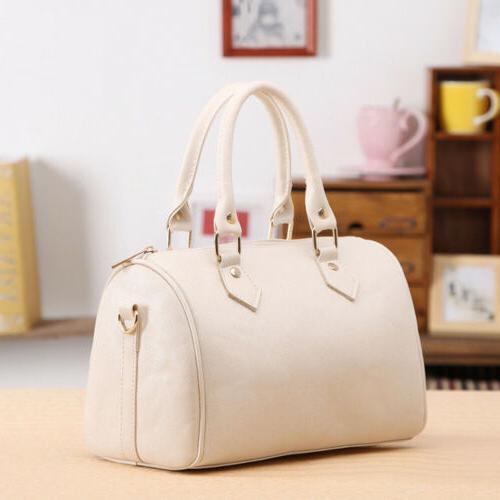 US Leather Tote Bag Crossbody Messenger